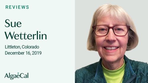Testimonial thumbnail portrait of Sue Wetterlin