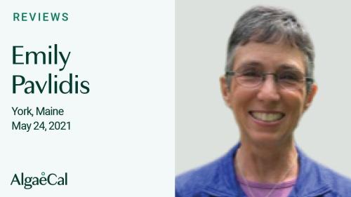 Testimonial thumbnail portrait of Emily Pavlidis