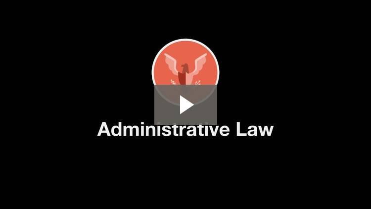 administrative law paper topics