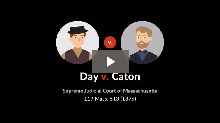 Day v. Caton