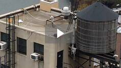 Missing Fall Protection on a Flat Roof! - Hazard Spotting