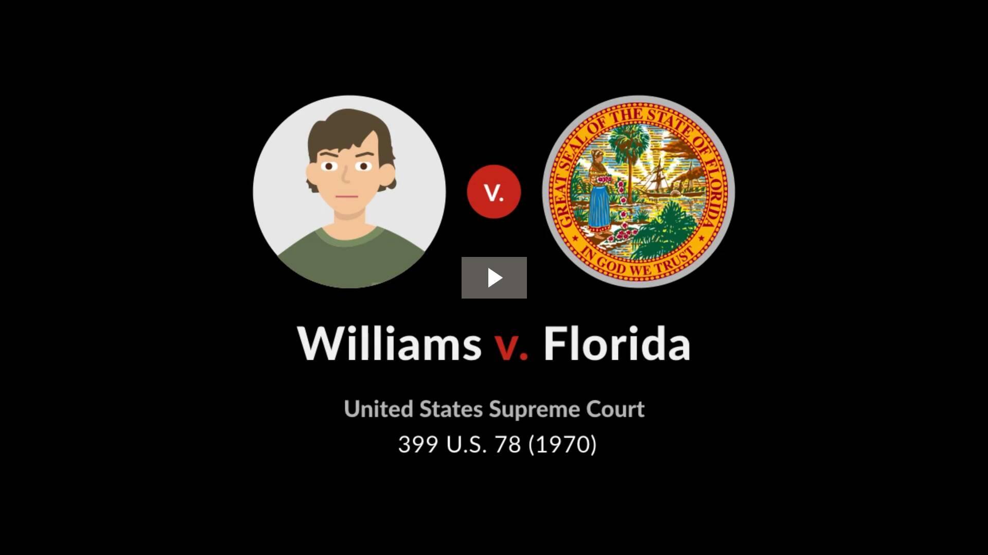 Williams v. Florida