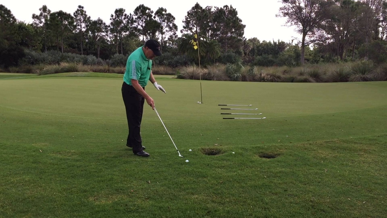 Chipping from the Rough - Same Swing with Adjustment