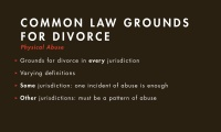 Grounds for Divorce thumbnail