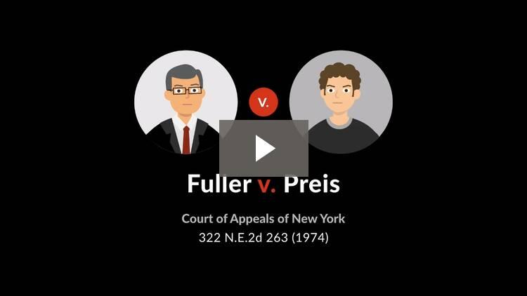 Fuller v. Preis