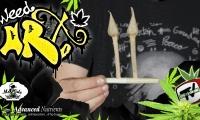 Cómo hacer una doble flecha (tulipán doble) Weed Art