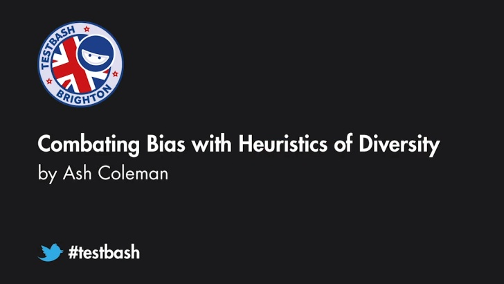 Combating Bias with Heuristics of Diversity - Ash Coleman