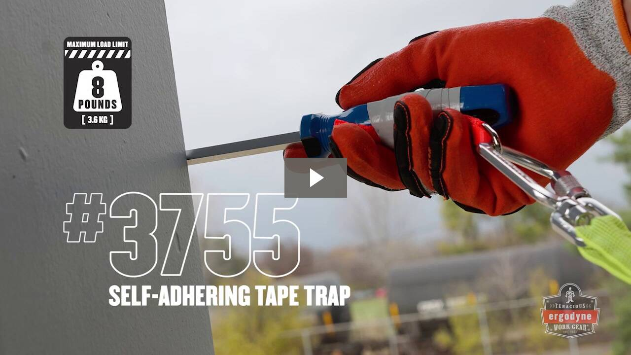 Ergodyne Product Video - Squids<sup>®</sup> 3755 Self-Adhering Tape Trap - 12ft // 3.7M Roll