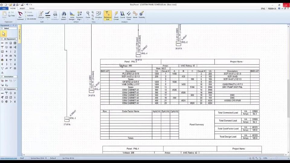 Easypower Webinar  Custom Panel Schedules In Easypower