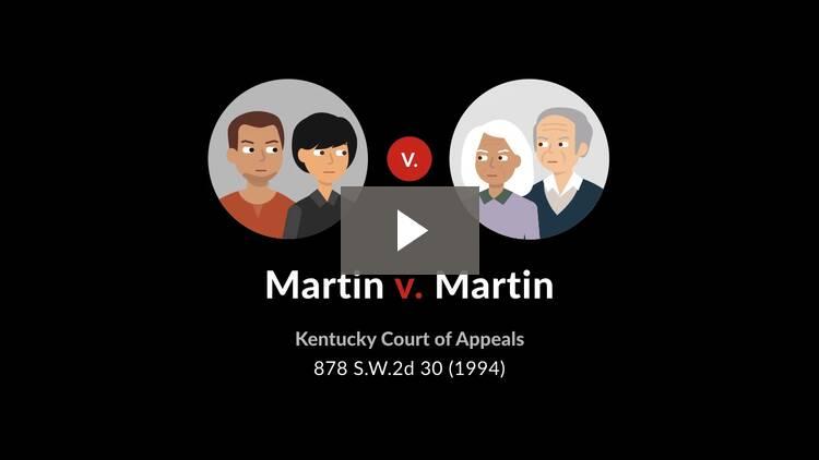 Martin v. Martin