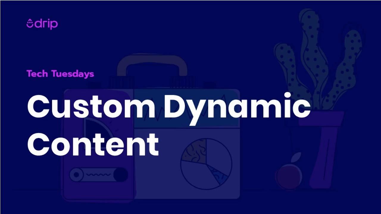 Custom Dynamic Content Episode Thumbnail