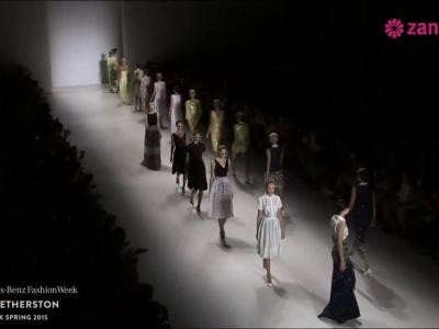 Erin Fetherston primavera 2015: Feminidad y romanticismo en preciosos vestidos de fiesta