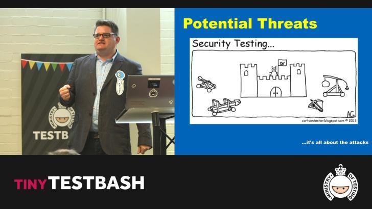 New Adventures in Security Testing – Dan Billing