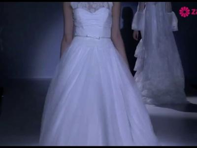 Desfile de vestidos de noiva e convidadas Franc Sarabia 2014