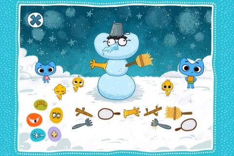 Kit^n^Kate Let's Build a Snowman