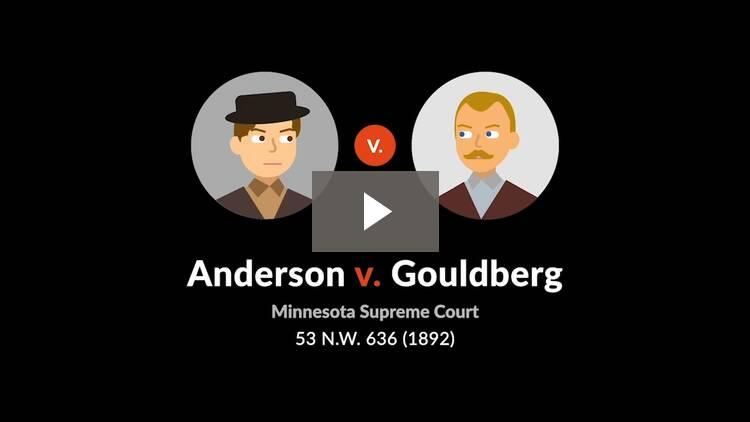 Anderson v. Gouldberg