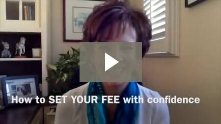 How to SET YOUR FEE with Confidence