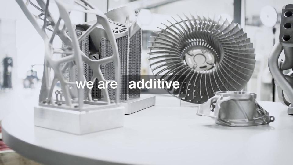 Wir sind additiv