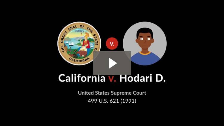 California v. Hodari D.