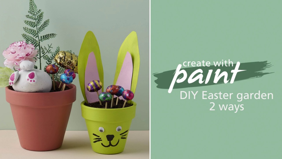 Habitat TV Video: DIY Easter garden, two ways