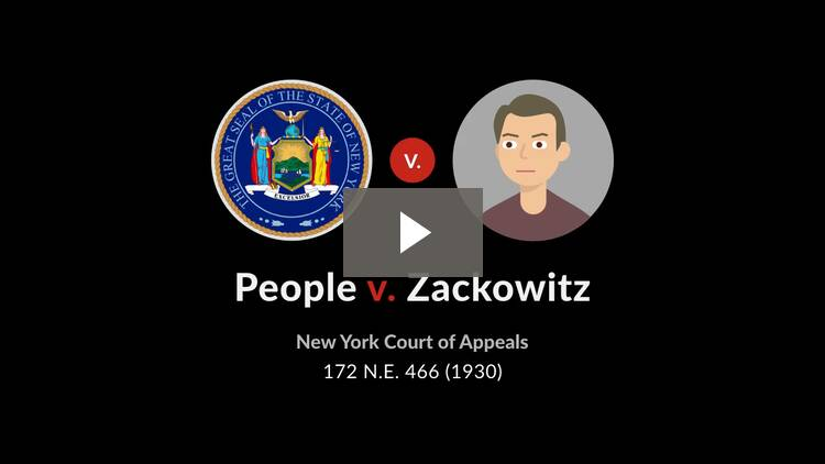 People v. Zackowitz