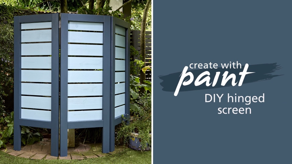 Habitat TV Video: DIY hinged screen