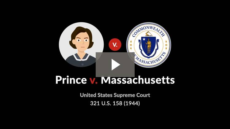 Prince v. Massachusetts