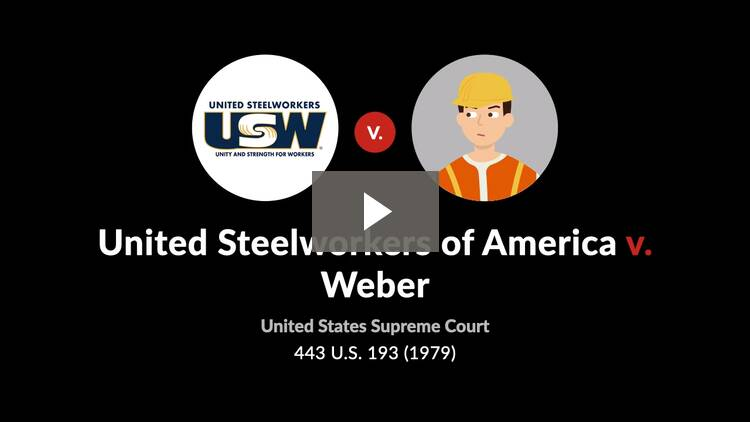 United Steelworkers of America v. Weber