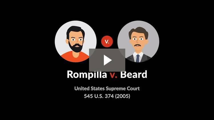 Rompilla v. Beard
