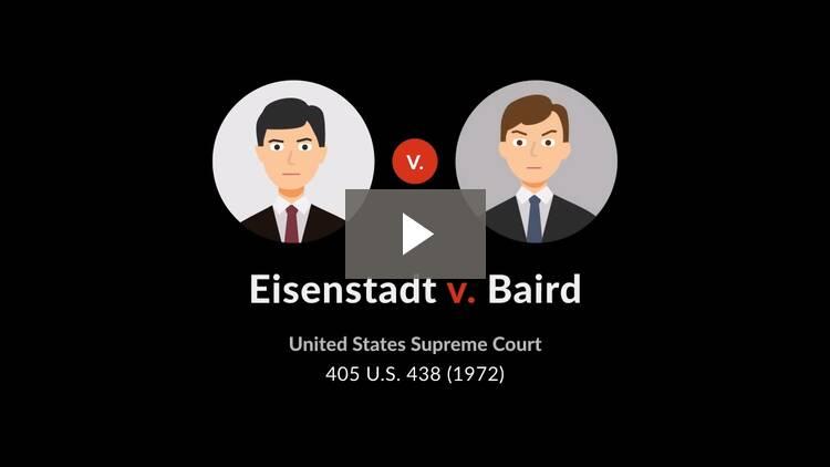 Eisenstadt v. Baird