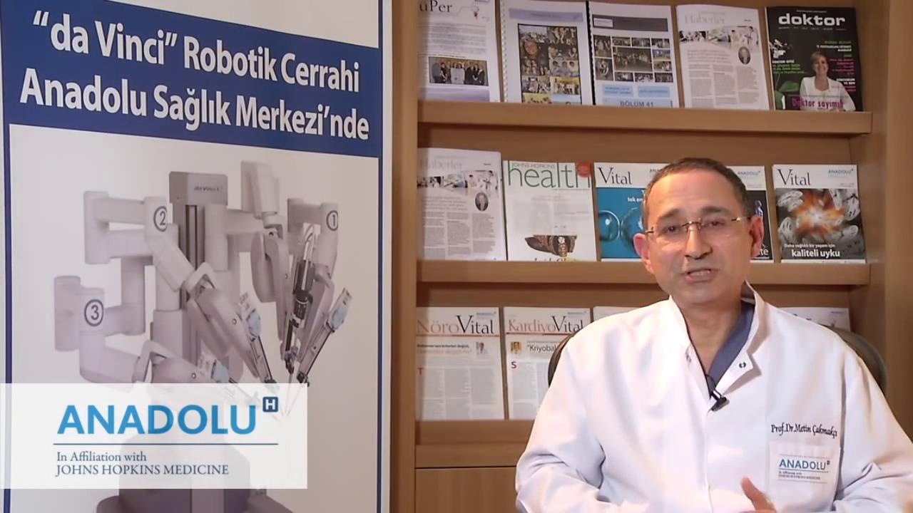 Kanser ameliyatlarında robo...