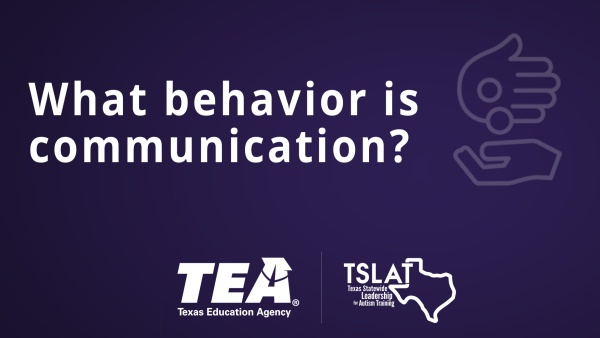 What behavior is communication?