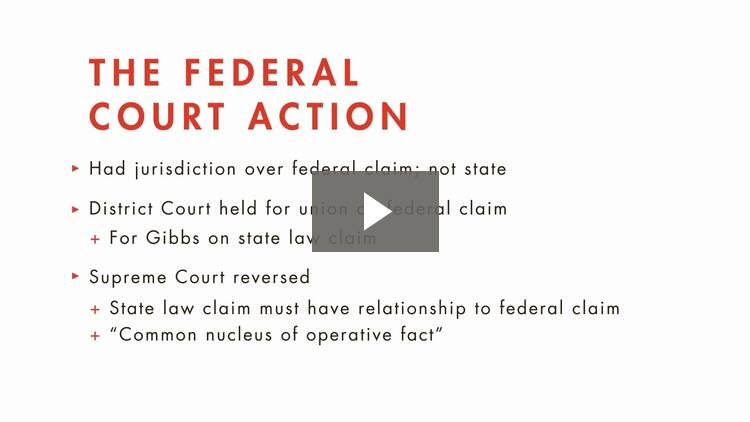 Supplemental Jurisdiction