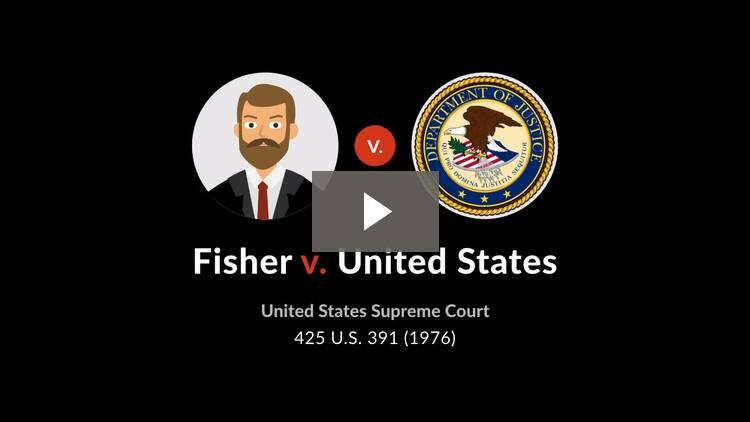 Fisher v. United States