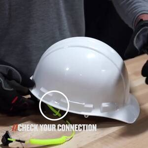 Ergodyne Product Video - Squids<sup>®</sup> 3158 Coil Hard Hat Lanyard with Clamp