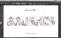 Tipografia com Pincéis 03 - Art Brush