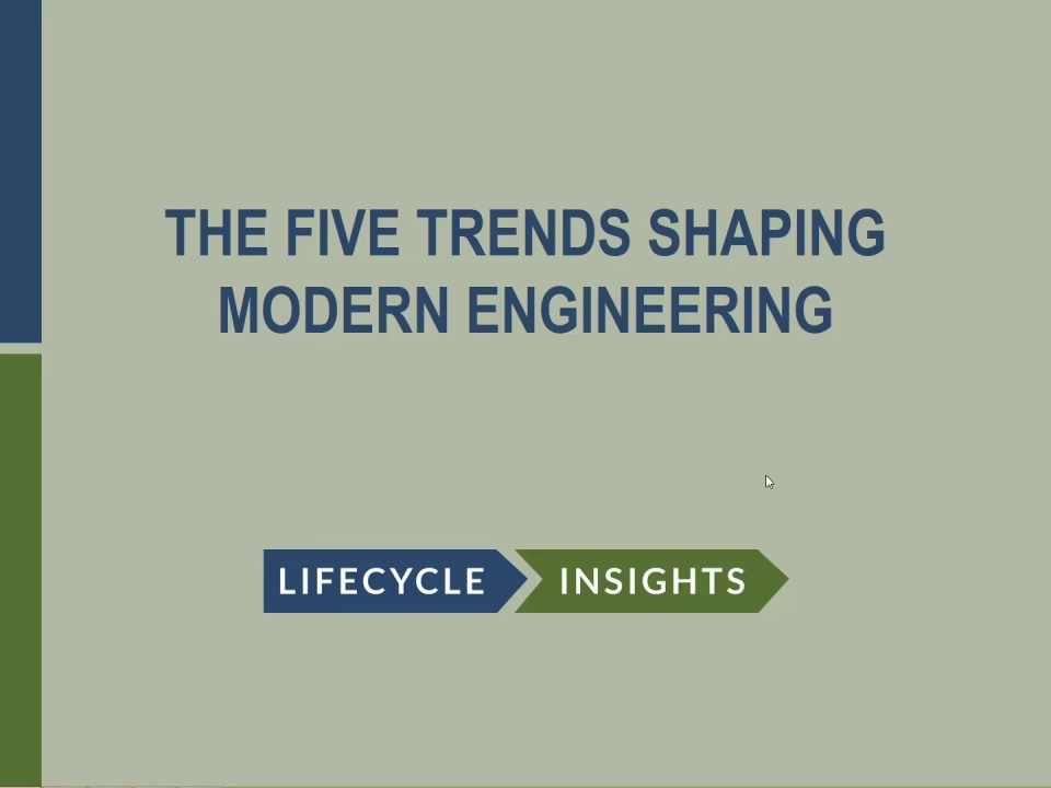 the five trends shaping modern engineering autodesk
