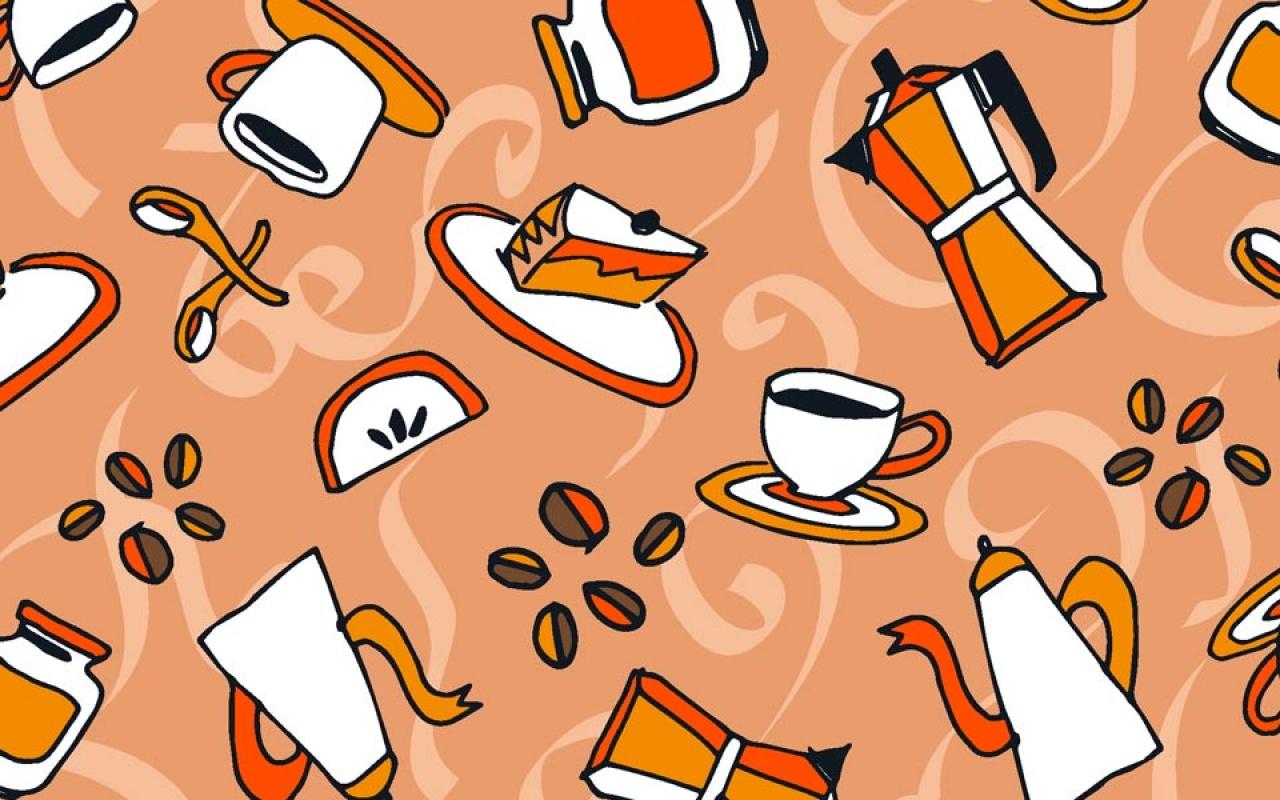 Estampa Café com Leite passo a passo