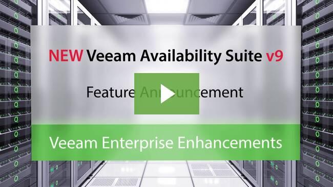 Podívejte se na video: Vylepšení Veeam pro velké podniky ve verzi v9