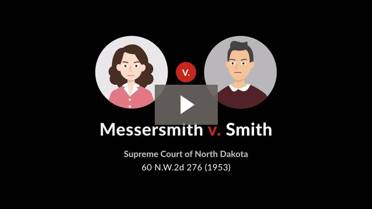 Messersmith v. Smith