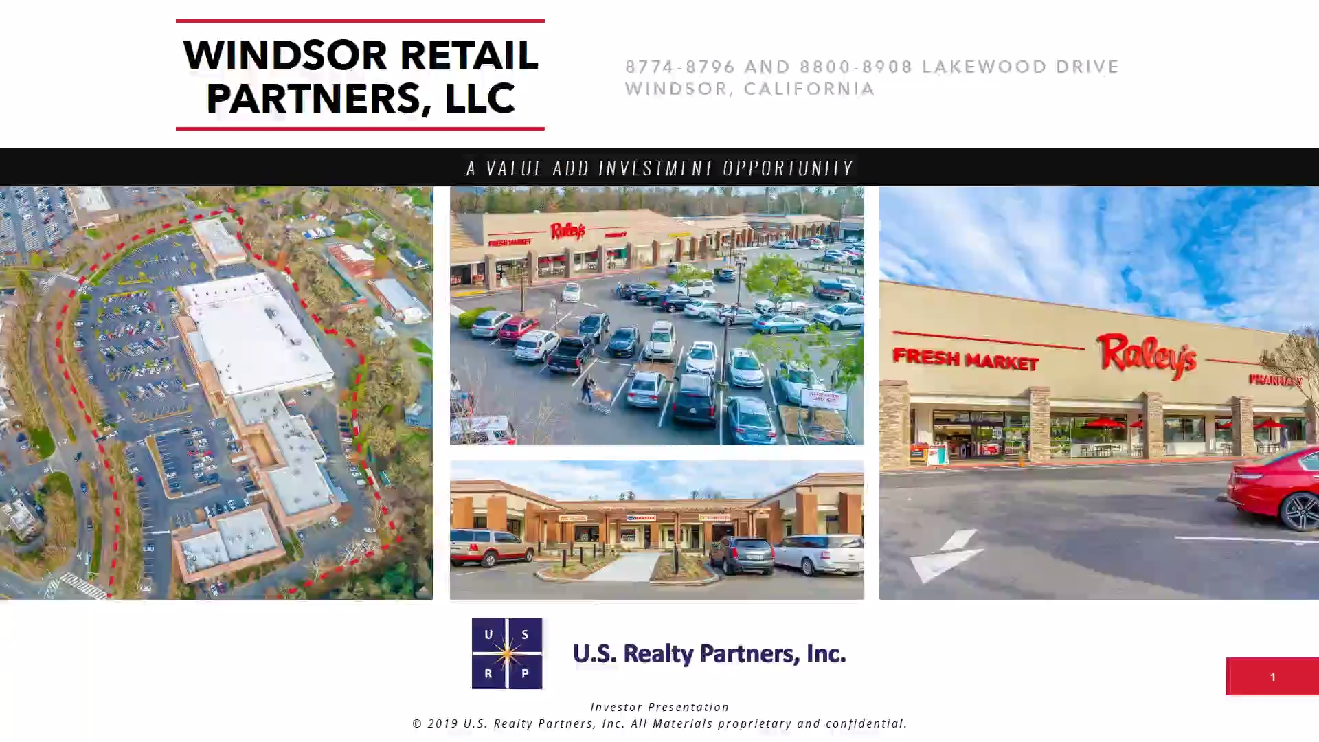 Investment Video - Windsor Retail Partners, LLC