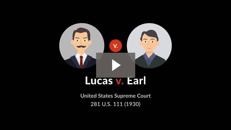 Lucas v. Earl