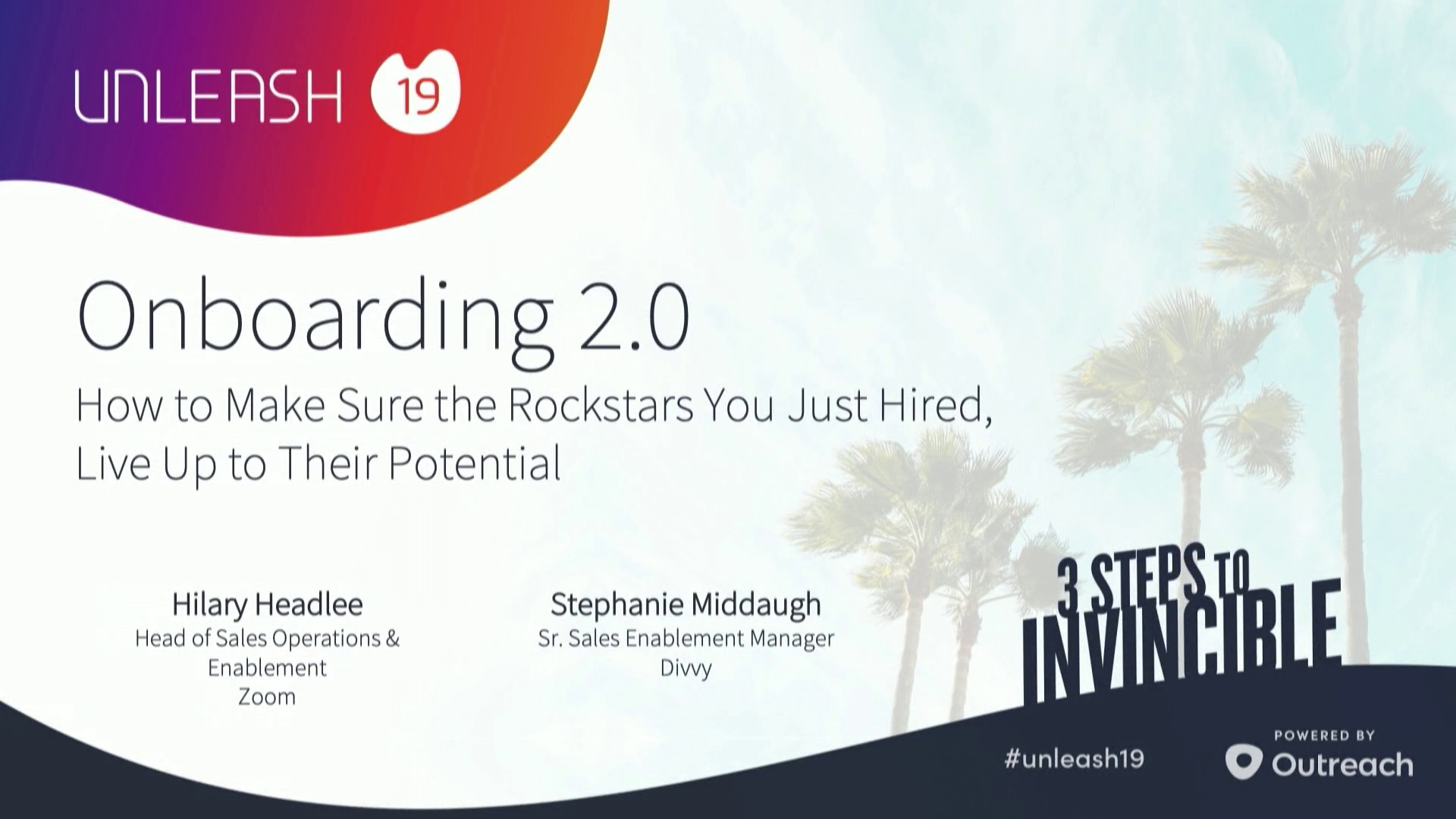 Onboarding 2.0 - Hilary Headlee, Stephanie Middaugh