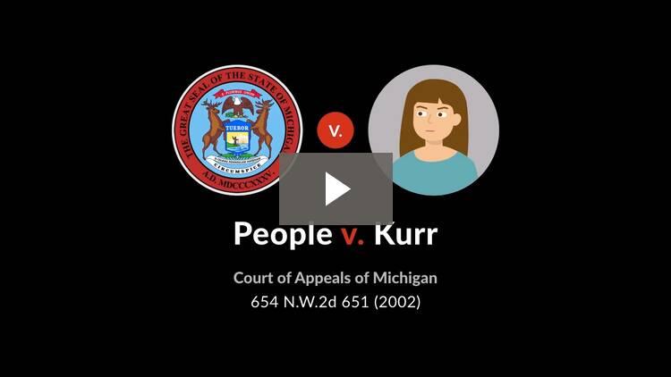 People v. Kurr