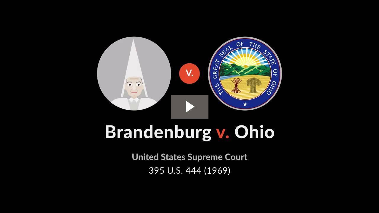 Brandenburg v. Ohio