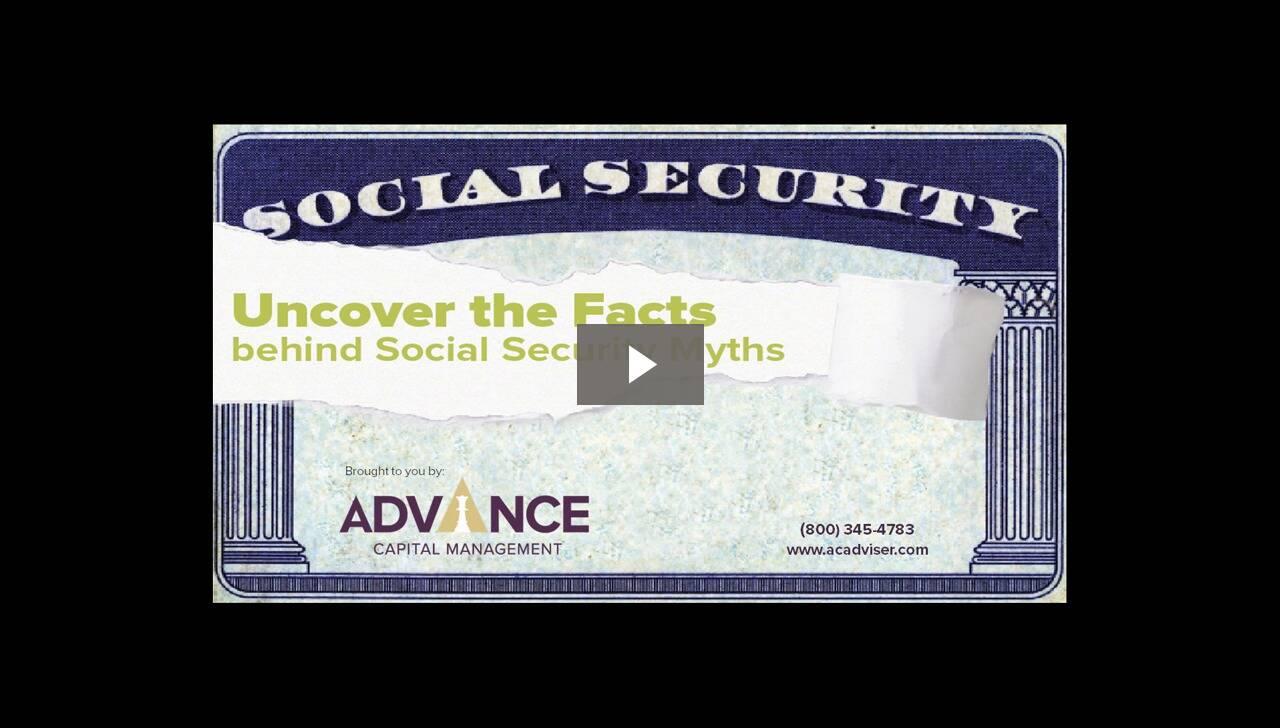 2015-05-12 19.03 Social Security - Myths Vs. Facts