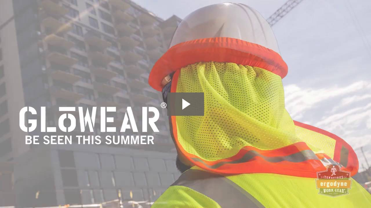 Ergodyne Product Video - GloWear<sup>®</sup> 8216BA Type R Class 2 Breakaway Mesh Vest w/ ID Badge Holder