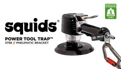 How to Safely Tether Your Pneumatic Tools Using Squids® Power Tool Brackets