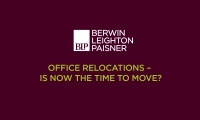 Still image from 'Office relocations: is now the right time to move?' video