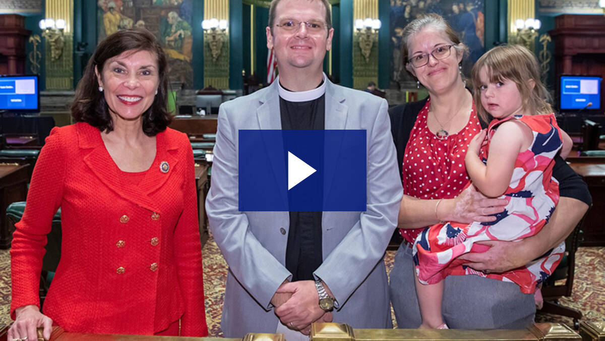 6/21/21 – Senate Guest Chaplain, Pastor Grant Ambrose